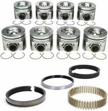"2008-2010 Ford 6.4L 6.4 Powerstroke Diesel Mahle Pistons & Rings .75mm .030"" 30"