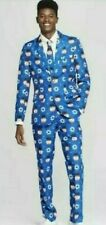 NWT SUITMEISTER 3 PC SET SNOWMAN JACKET SUIT UGLY CHRISTMAS HOLIDAYS  MEN'S