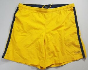 NIKE Mens Blue & Yellow Swim Trunks Size LARGE Mens 40 SEE PICS