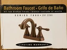 Pegasus 7000 Series Oil Rubbed Bronze Finish Widespread Bathroom Faucet-New