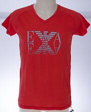 T-shirt maglietta V uomo EMPORIO ARMANI 211568 4P451 T.XXL c.05774 ROSSO