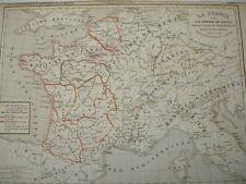 LA FRANCE sous les enfants de  Clovis de 511 à 561
