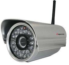 Apexis Funk Netzwerk IP Kamera Aussenkamera Nachtsicht Dummy Attrappe Defekt