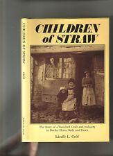 CHILDREN OF STRAW  - STRAW PLAITNG - BUCKS HERTS BEDS & ESSEX LTD EDN