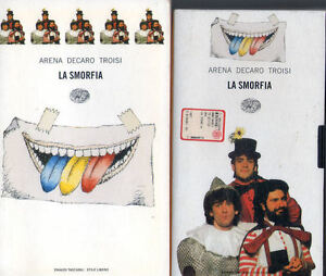 1997: ARENA, DECARO, TROISI - LA SMORFIA - LIBRO+VIDEOCASSETTA EINAUDI TASCABILI