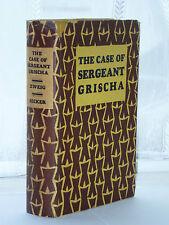 Arnold Zweig The Case Of Sergeant Grischa 1929 Edition