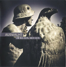 AUSWALHT ‎– Dura Lex, Sed CD LEGIONARII Arditi Von Thronstahl TRIARII Blood Axis