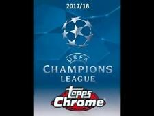 2018 Topps Chrome UEFA Champions League Soccer Base and Inserts Pick From List