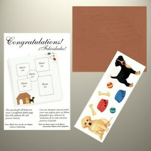 Creative Memories - TTY Kit - PUPPIES, KENNEL, DOG BOWLS, BALLS & BONES