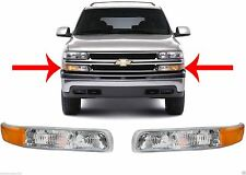 Replacement Marker Lights 1999-2002 Silverado/00-06 Tahoe Suburban New Free Ship