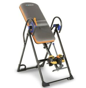 Exerpeutic 975SL All Inclusive Heavy Duty 350 lbs Capacity Inversion Table wi...