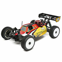Losi 1/8 8IGHT 4 Wheel Drive Buggy Nitro Ready to Run Red/Yellow LOS04010