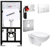 WC Vorwandelement   Set mit Spülkasten Geberit WC Ceravid + Einwurfschacht