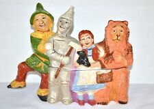Rick Wisecarver Wizard of OZ cookie jar #30 Limited edition signed Free Ship USA