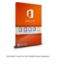 MS Microsoft Office 2016 Professional Plus ✔TOP Vollversion Original Business 1a