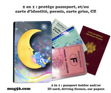 bisounours carebears #103 protège carte grise permis passeport passport holder