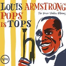 LOUIS ARMSTRONG - POPS IS TOPS: THE VERVE STUDIO ALBUMS  4 CD NEUF