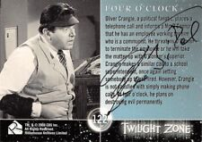 Autographed Twilight Zone Card 64 Theodore Bikel Four O'clock