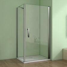 90x90x195cm Duschkabine Duschabtrennung Schwingtür Nano-glas Duschwand Duschtür
