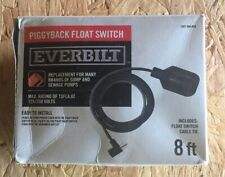Everbilt Piggy Back Float Switch for Sump and Sewage Pumps EBFSWPB