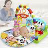 3in1 Baby Krabbeldecke Spielmatte Spieldecke Spielboge Babydecke Music Spielzeug