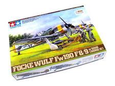 Tamiya Aircraft Model 1/48 Airplane FOCKE-WULF Fw190 F-8/9 w/Bomo Loading 61104