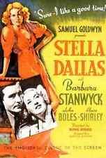 Film Stella Dallas 01 A3 Box Canvas Print