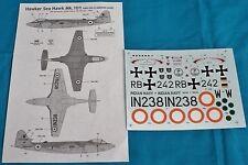 Classic Airframes 1/48 Hawker Sea Hawk Mk.101 decals 490
