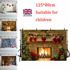 Backdrop Christmas Xmas Photography Baby Photo Background Studio Props Decor UK