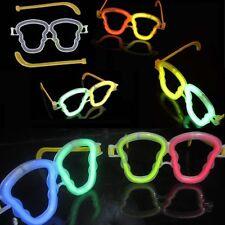 50 x Glow Sticks Skull Eyeglasses Eye Glasses Night Party Rave Dress Props