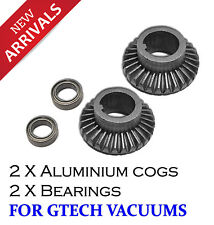 2 X Gtech AirRam Vacuum Cleaner Aluminium Gear & Bearing High Quality