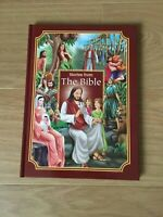 CHILDREN'S / KIDS STORIES FROM THE BIBLE HARDBACK BOOK-WITH COLOUR ILLUSTRATIONS