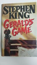 Rare Vintage 1992 Stephen King's GERALD'S GAME Hardcover First Edition Viking