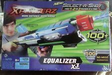 XPLODERZ EQUALIZER X3 TOY GUN AGES 8+ SHOOTS UP TO 100+FEET