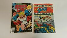 Showcase #97 (Feb 1978, DC), VF+, All Star Comics 58, G+, 1st Power Girl lot