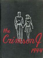 NEWTON BATEMAN HIGH SCHOOL, JACKSONVILLE, IL YEARBOOK - THE CRIMSON J -  1944