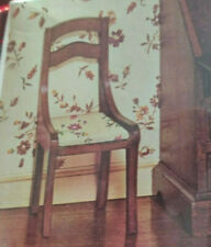 NEW Vintage Set of 2 Doll House Chairs #40007 by X-Acto House of Miniatures 1:12
