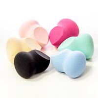 OFFA Beauty 3 IN 1 Blending Sponge 6 Color for Choice Round Shape Flat Edge
