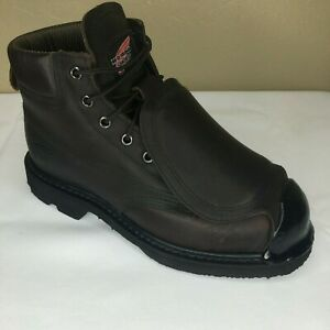 Red Wing Steel Toe Metatarsal Boots