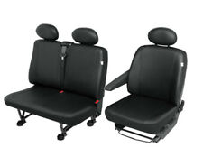 VW T4 Similpelle Rivestimenti Sedili Coprisedili Sedile Conducente + Panchina