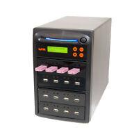 SySTOR 1-15 USB Stick Pen Duplicator - Thumb Drive Copier - Flash Memory Eraser