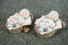 Sarah's Attic Bundle Of Love Set Of Two Baby Figurines