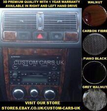 VW GOLF MK4 & BORA 1997-2004 Volkswagen Dash Kit - Walnut - Piano Black - Carbon