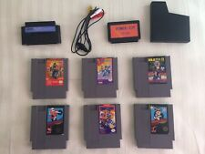 Nintendo Nes Lot Mega Man 4, Retroport, Ninja Gaiden 1/2, Strider, Famicom Game