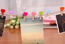 10 x Marcos de cartón foto Albúm clips marcos de foto decoración pared hogar