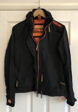 Ladies Superdry Professional Windcheater Jacket Coat Size M, Excellent Condition