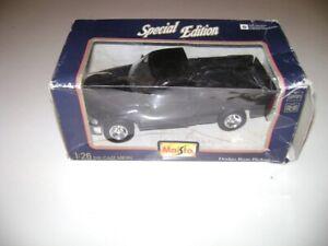 Maisto Special Edition 1995 95 Dodge Ram Pickup Truck 1/26 scale in box Black