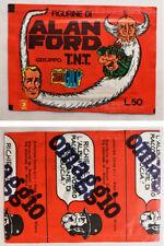 Bustina ALAN FORD sigillata CORNO 1976 Versione Omaggio