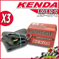 Set 3 Inner Tube for Vespa Kenda 3.00/3.50 -10 Article RMS 999200001