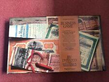 Waddingtons Mine A Million Business Strategy Game Jeu D'affaires 1972